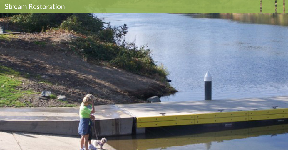 Melton Design Group restored the habitat at Riverbend Park in Oroville, CA. Dock restoration and river access are featured at Riverbend Park.