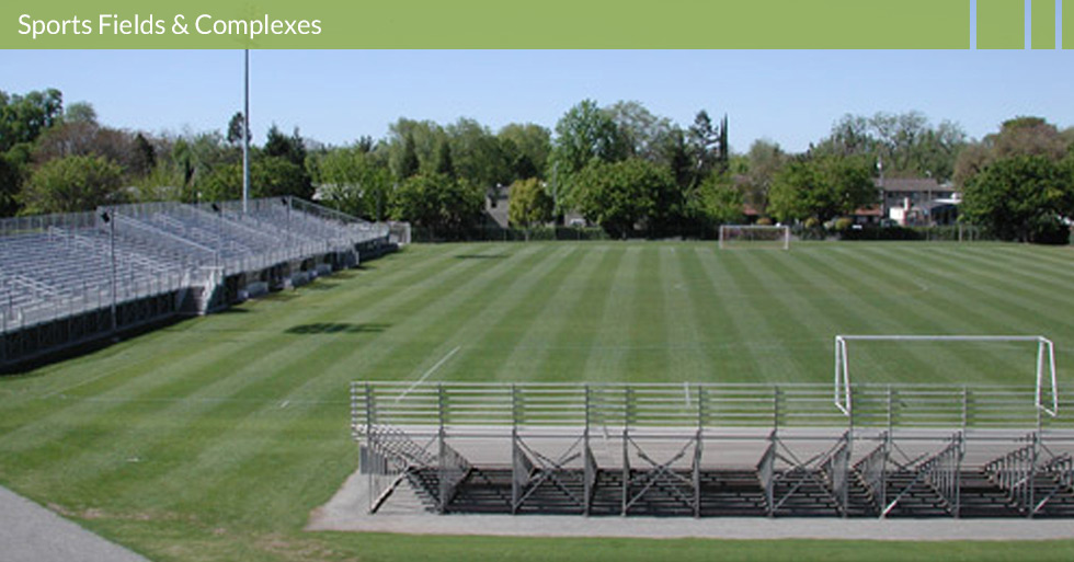 Design sports fields irrigation systems for Mdg landscape architects