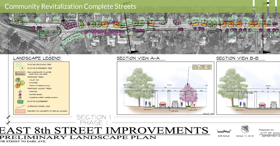 Melton Design Group, a landscape architecture firm, designed 8th Street in Chico, CA.