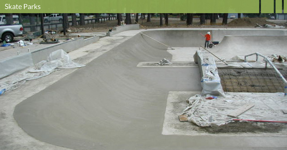 Melton Design Group designed the skate park in Quincy, CA. This skate park is surrounded by natural trees and was designed to blend into the natural environment. This skate park features all levels of skill and is embraced by the community as a unique action sports complex.