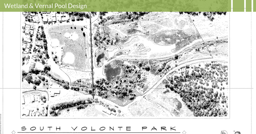 Melton Design Group designed the wetland delineation map for South Volonte Park in Susanville, CA.